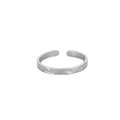 """""""Romina Silber"""" Edelstahl Ring"""