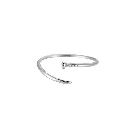 """""""Adelia Silber"""" Edelstahl Ring"""