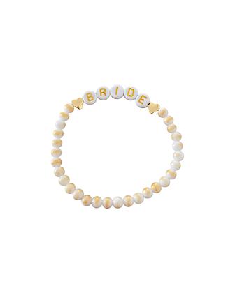 """Bride Gold"" Armband"