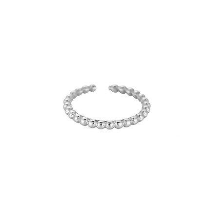 """Paola Silber"" Edelstahl Ring"
