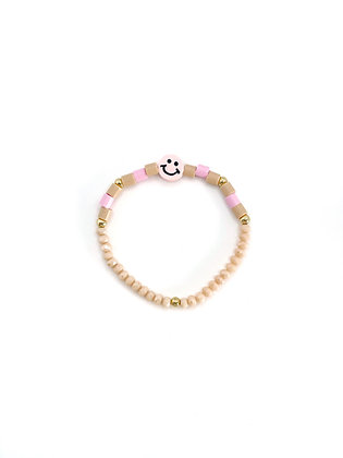 """""""Happy Face Pink"""" Armband"""