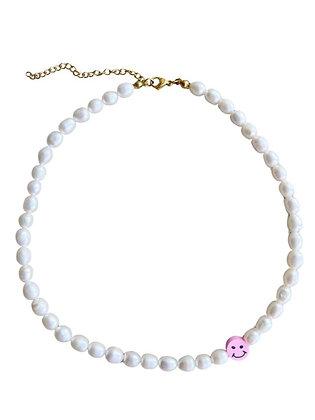 """""""Pink Pearl Smile"""" Halskette"""