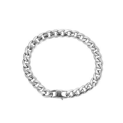 """""""Bold Chain Silber"""" Armband"""