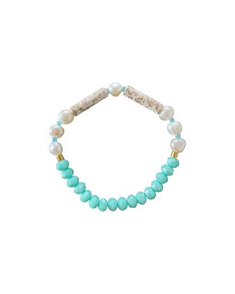 """Turquoise Sea"" Armband"