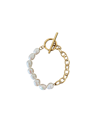 """Pearl Chain"" Armband"