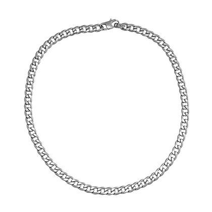 """""""Bold Chain Silber"""" Halskette"""