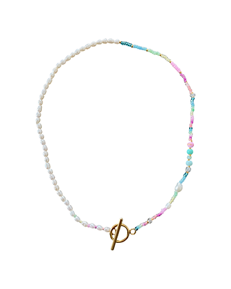 """Pastel Pearl"" Halskette"