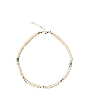 """""""Bali Beads Beige"""" Halskette"""