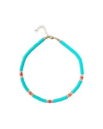 """Bali Beads Green"" Halskette"