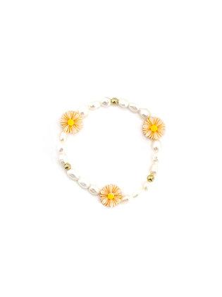 """Flower Pearl"" Armband"