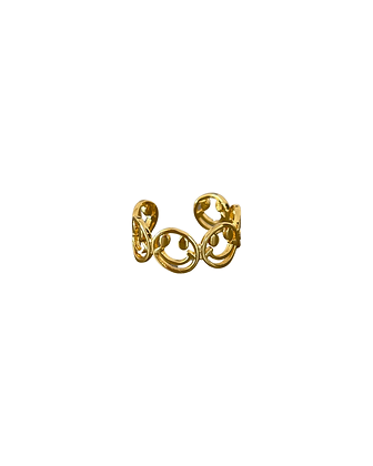 """""""Happiness Gold"""" Ring"""