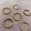 """Thumbnail: """"Cara Gold"""" Edelstahl Ring"""