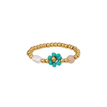 """Daisy Green"" Ring"