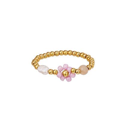 """Daisy Purple"" Ring"