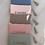 Thumbnail: Musselin Kosmetiktasche Altrosa
