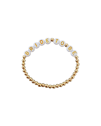 """""""Bride To Be Gold"""" Armband"""