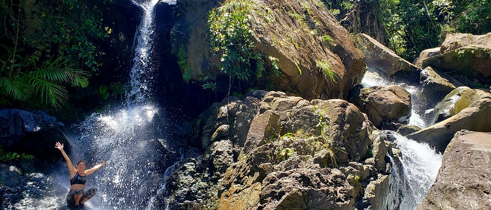 Waterfall at El Yunque Tour Done Right!