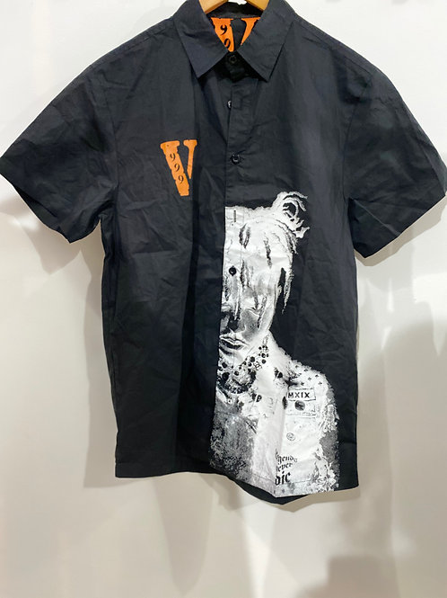 Juice Wrld X Vlone Polo Button Up