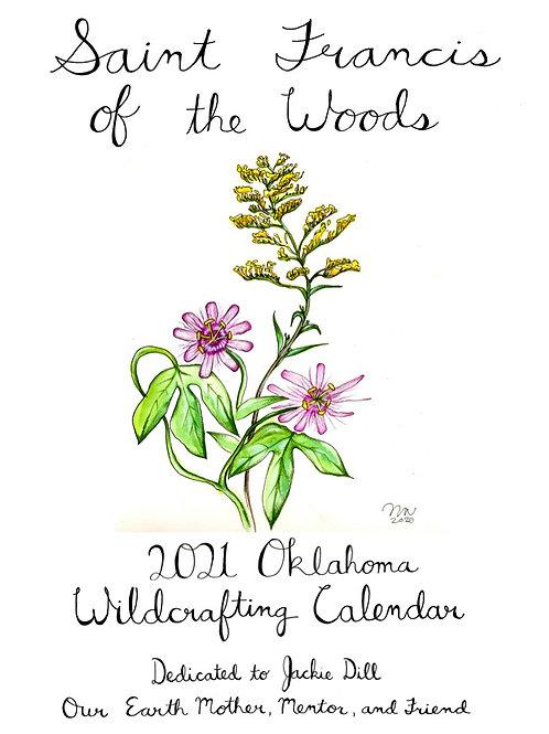 Oklahoma Wildcrafting 2021 Calendar