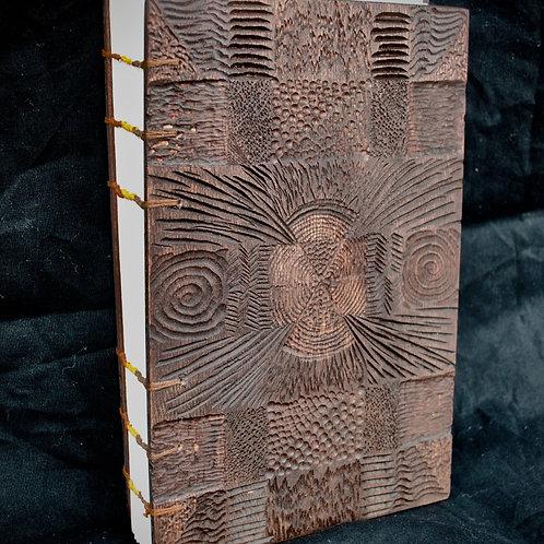 Wooden Coptic Bound Journal
