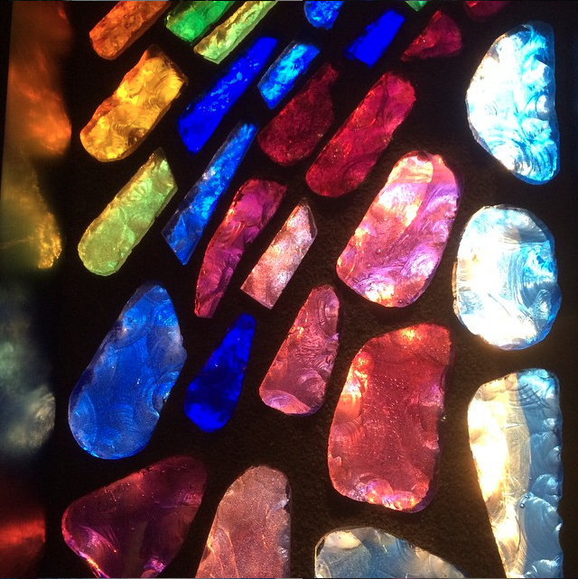 cut glass window