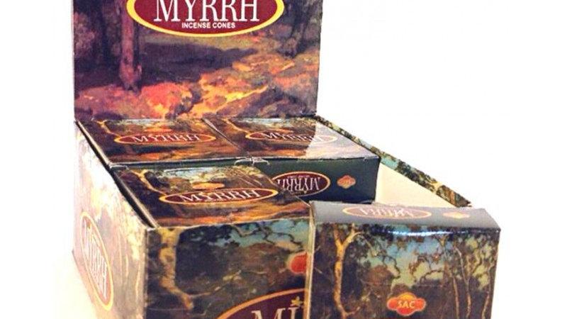 Myrrhe Cones incense Sac