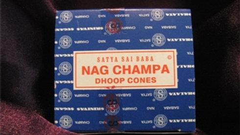 Cône d'encens Nag Champa