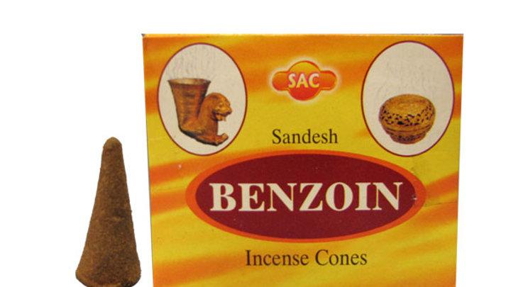 Benjoin Sac Cones