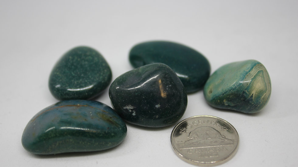 Agate Sarcelle