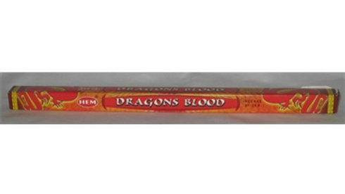 Bâtons encens sang de dragon
