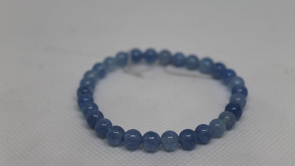 Bracelet aqua marine