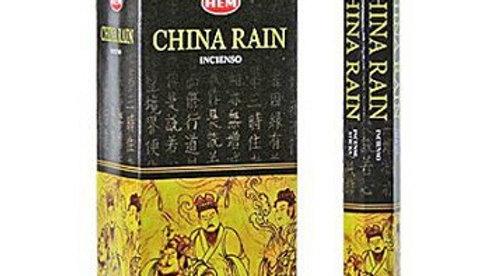Pluie de Chine