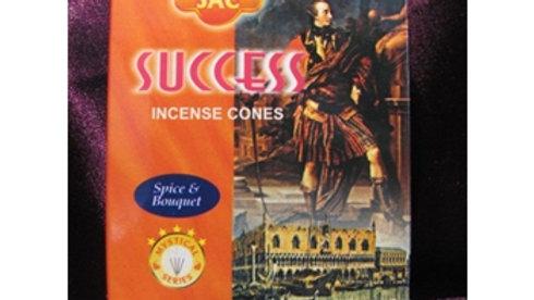 Cône d'encens succès