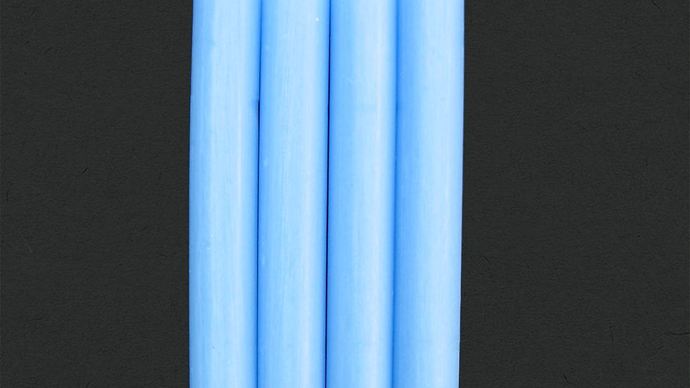 Mini bougie bleu pale