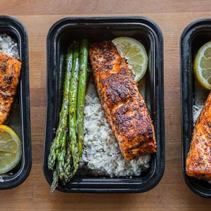 Herb Sesame Crushed Salmon
