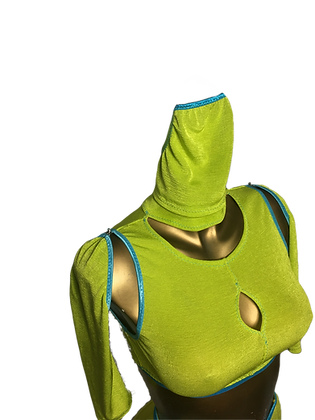 Polo Mask Lime/Blue edt.