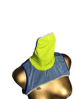Reversible Body Polo Mask Blue/Lime edt.