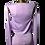 Thumbnail: No Sweat Cardi Lilac/Silver edt.