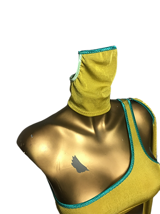 Polo Mask Chartreuse/Turquoise edt.