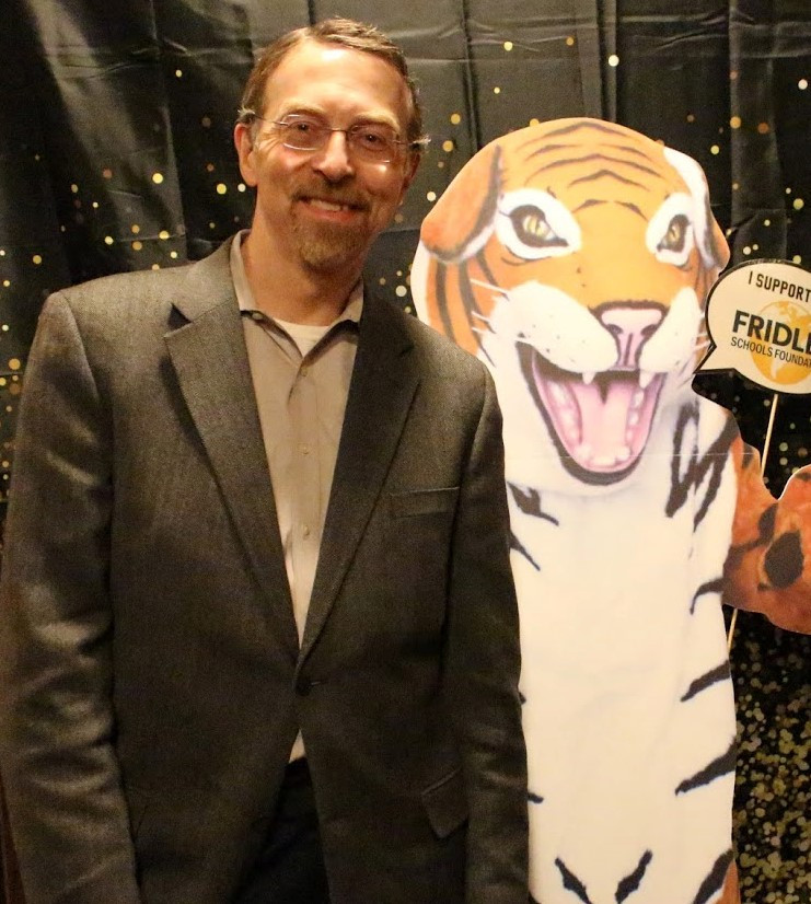 Supporting public schools at the Fridley Black & Gold gala!