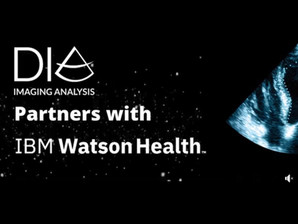 DiA Joins With IBM Watson Health to Arm Clinicians with its AI-powered Cardiac Ultrasound Software