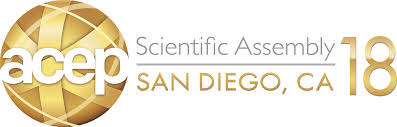 Attending ACEP 2018 Oct. 1-4, San Diego
