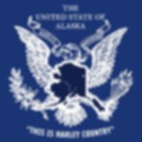 t-shirt united states of Alaska example.