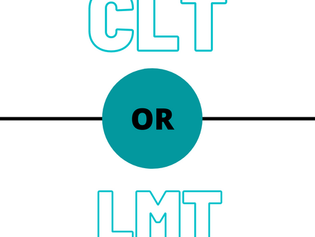 Why is a CLT (certified lymphedema therapist) different than a LMT (licensed massage therapist)?