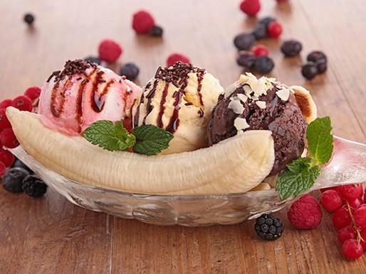 Making a Healthy Banana Split: