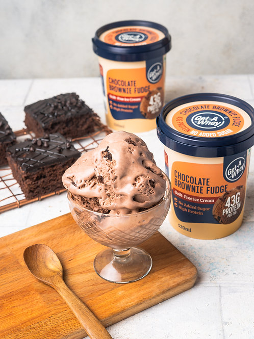 Chocolate Brownie Fudge 520 ml