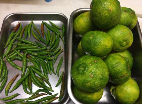 作ってみました 柚子胡椒