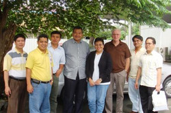 with dr roman  and bioorganics grp