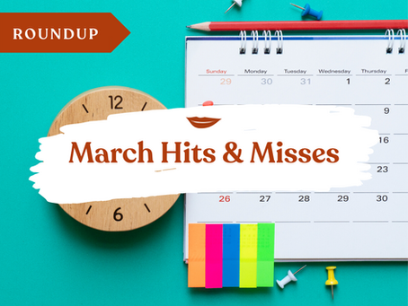 March Roundup