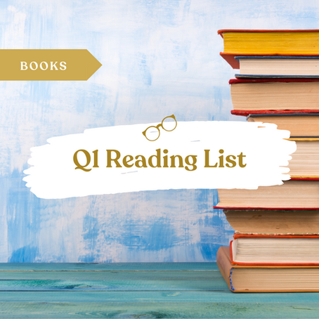 Q1 2020 Reading List